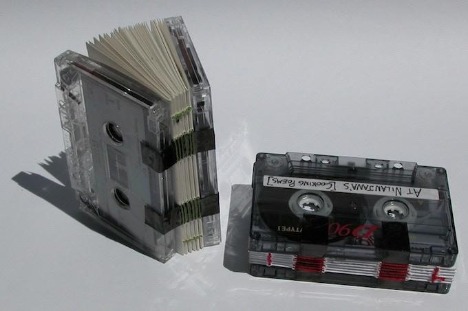 """Custom """"Book on Tape"""""""