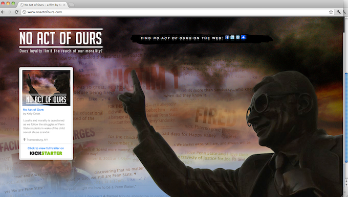 Awesome main page but we need a full site that will dazzle you!