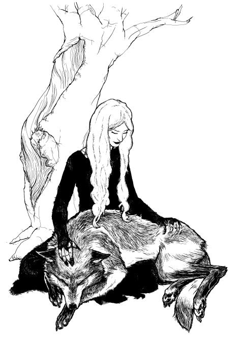 Death and the Wolf by Julia Ellingboe
