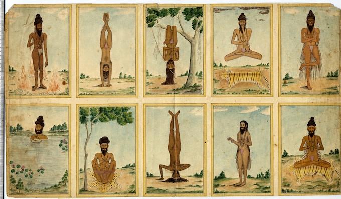 Yogic practices, Tamil Nadu, c.1830