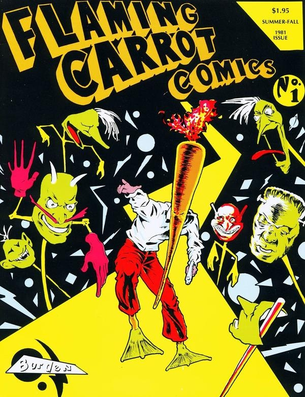 Flaming Carrot Comics Over Sized #1