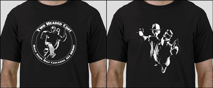 Two t-shirt designs to choose from. Both Men's and Women's cuts.