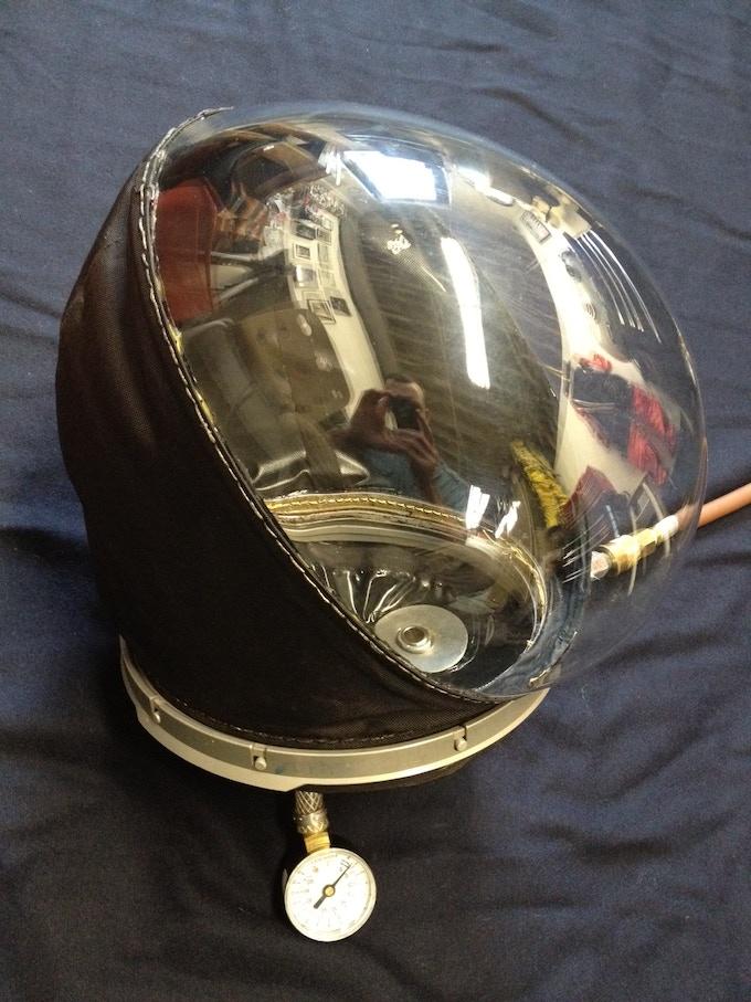 Pressurized Soft Helmet