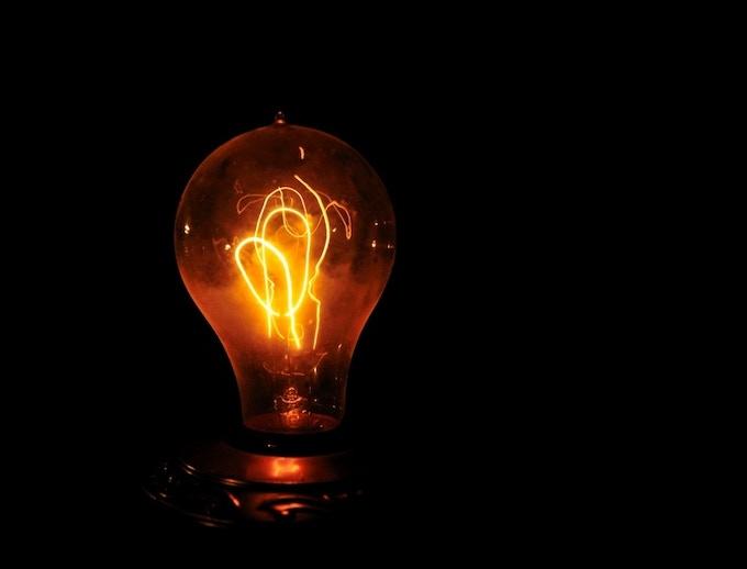 Early Edison bulb