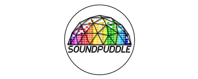 SoundPuddle stickers and patches