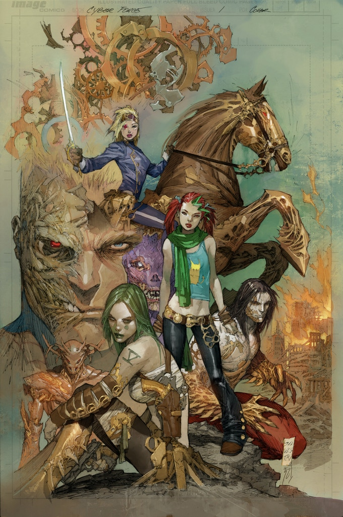 Cyber Force #1 Cover Art