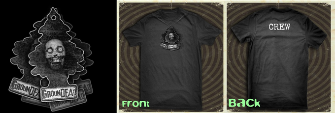 (PRIZE) New Zombie Air Freshner T-Shirts!
