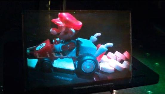 Full-color hologram demo