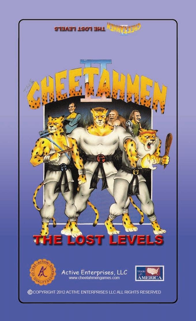CHEETAHMEN II: THE LOST LEVELS
