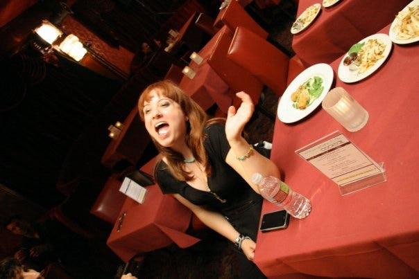 Etta Devine as Ginger Sparks