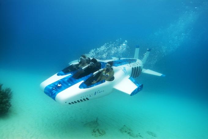 DeepFlight Merlin (AKA Necker Nymph) in the British Virgin Islands