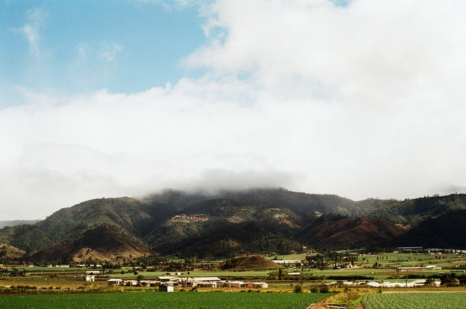 In this photograph you can see the mist just making its way over the mountains. By the evening Constanza will be covered by a thick fog.