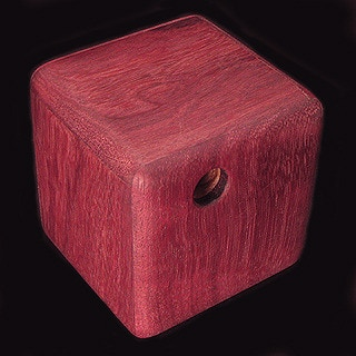 Purple Heartwood is currently offered in several sizes, a 3 inch maze at $70.00 each. More challenging 3.5 and 5 inch mazes with multiple entrances and exits begin at $175.00 and $450.00 each respectively.