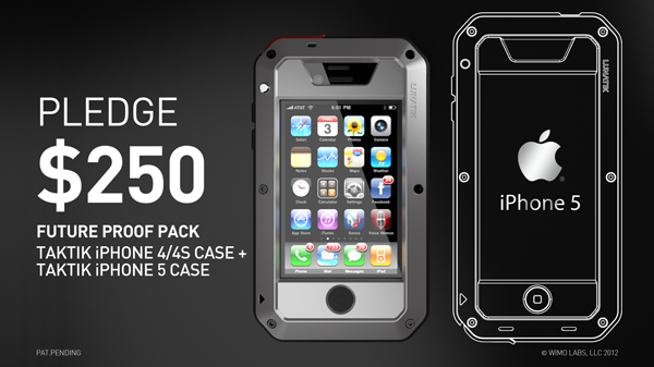 Pledge For The Future Proof Pack And Receive One Taktik Iphone 4 4s Case Choose From Black Or White Polymer Bezels Silver Anodized Aluminum