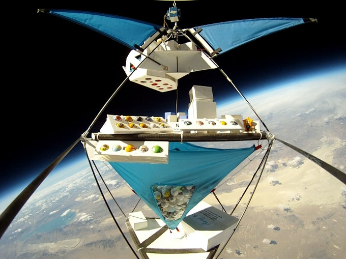 Student project at the edge of space