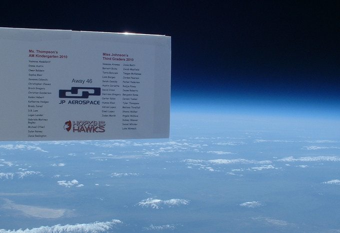Your name on at high altitude pics for reward.