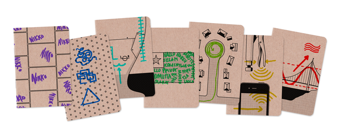 More mock-ups: 7 of 8 from the pocket notebook series!