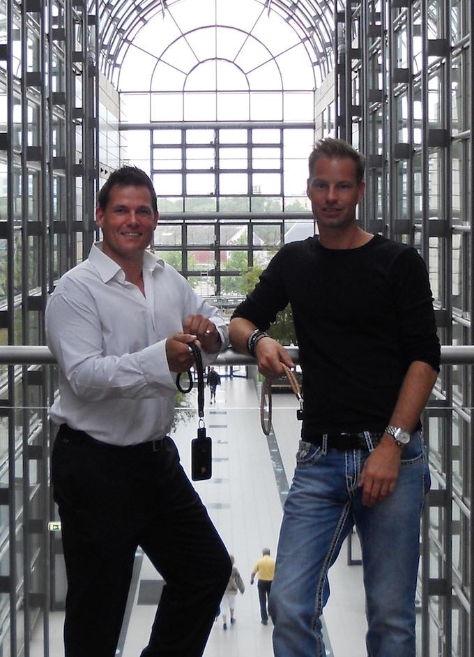Morten and Henrik in Aarhus