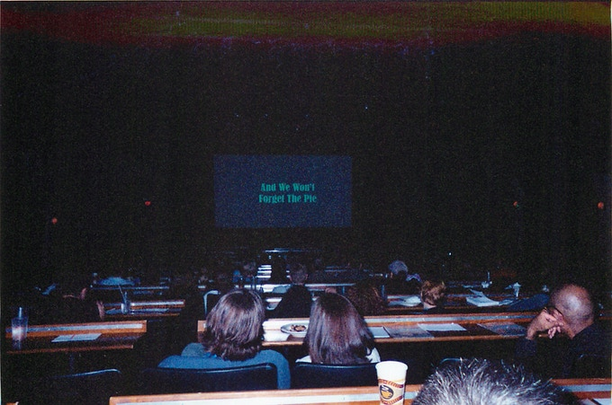 A view from the BEHIND THE MASK: THE RISE OF LESLIE VERNON premiere on March 12th, 2006 at the Alamo Drafthouse, Downtown, in Austin, Texas.
