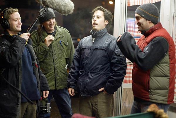 Actor, Ben Pace, giving 'wild lines'.