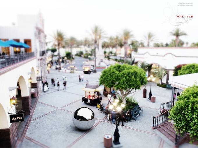 Illustration of La Burbuja Sound Booth at Plaza Mexico in LA