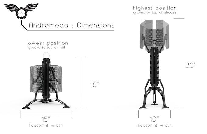 Andromeda : Tactical Lighting by Sketchy Design Studio