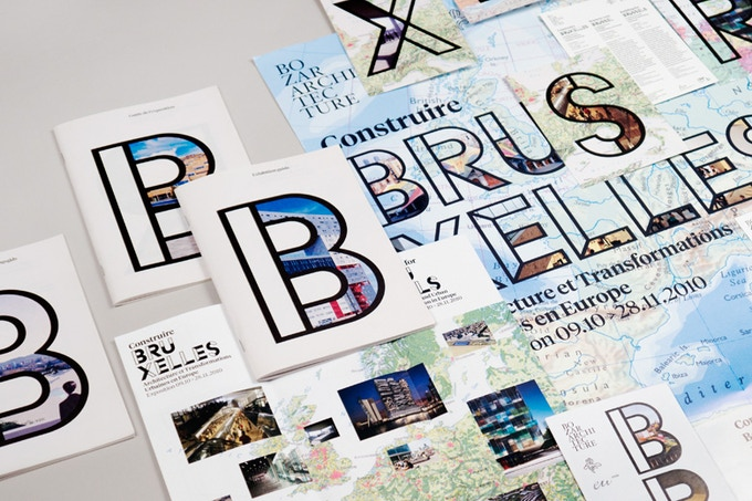 """""""Building for Brussels"""" exhibit design by Project Projects"""