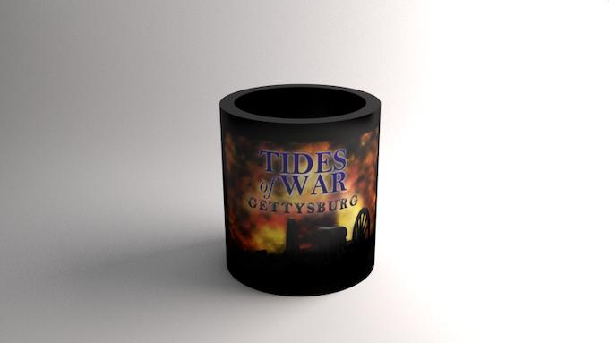 TIDES of WAR: GETTYSBURG© Beverage Holder/Coaster