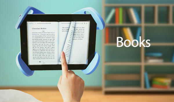Before sleeping is the best time to read a book. Search through countless electronic titles to find the book that you want to read and enjoy reading that book—all from the comfort of your bed!