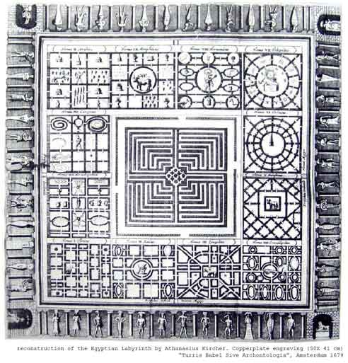 """Enter the ancient labyrinth in search of Lucifer's """"Book of Awe"""""""