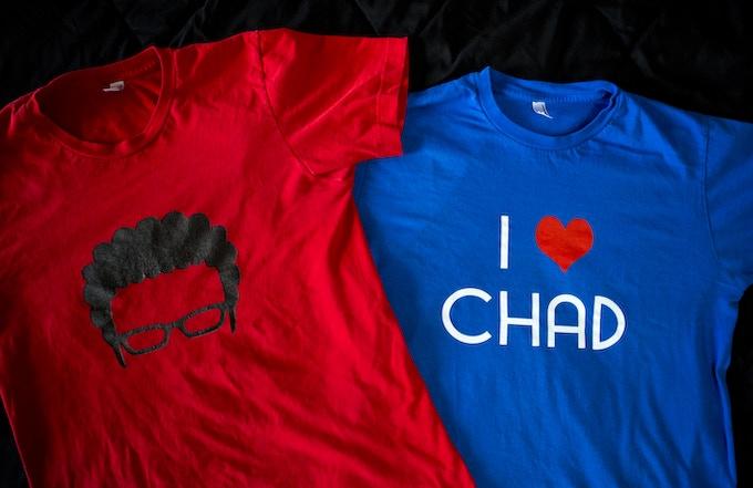 Exclusive Ian & Chad Kickstarter T-shirts!