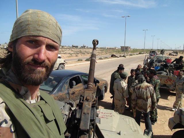 Freedom Fighter Matthew VanDyke in the Libyan Revolution