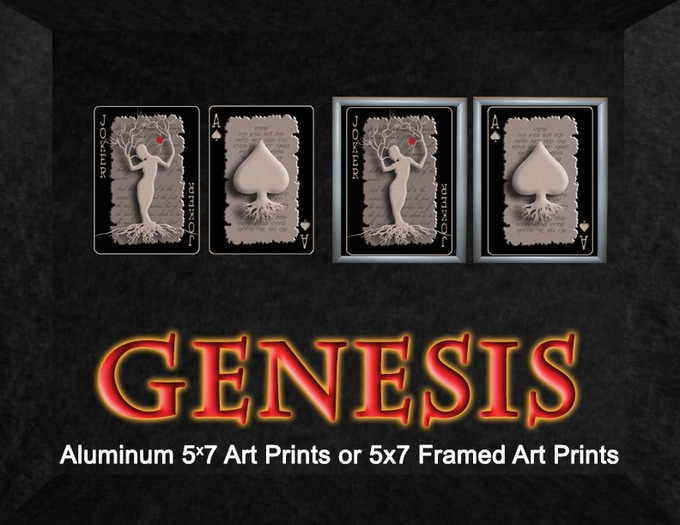 Aluminum Art Prints (on left) Framed Art Prints NON ALUMINUM (on right)