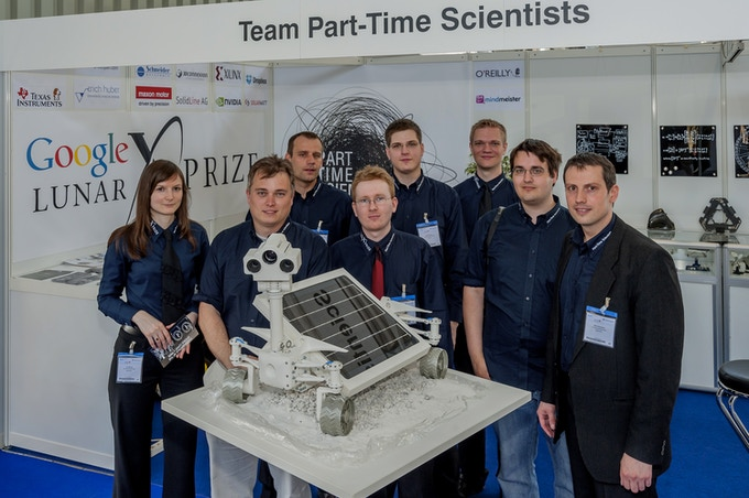Meet the Part-Time Scientists! (8 of ~100)