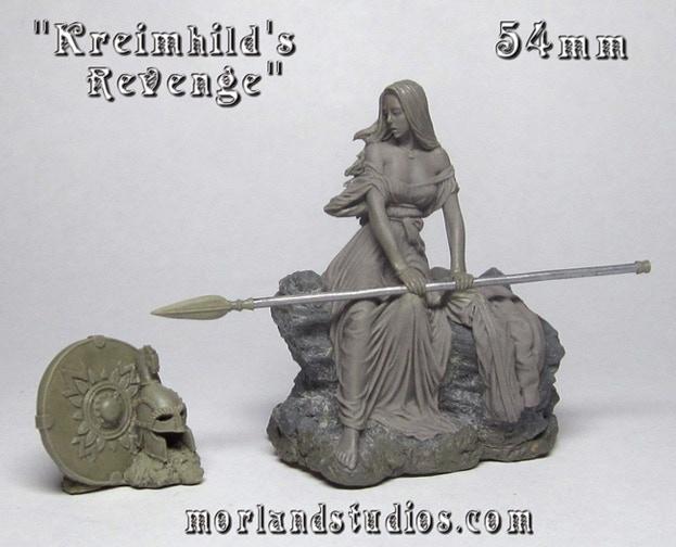 54mm Kreimhild Sculpt