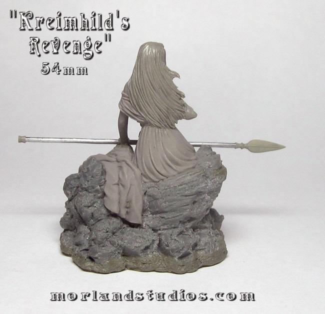 54mm Kreimhild Sculpt Back View