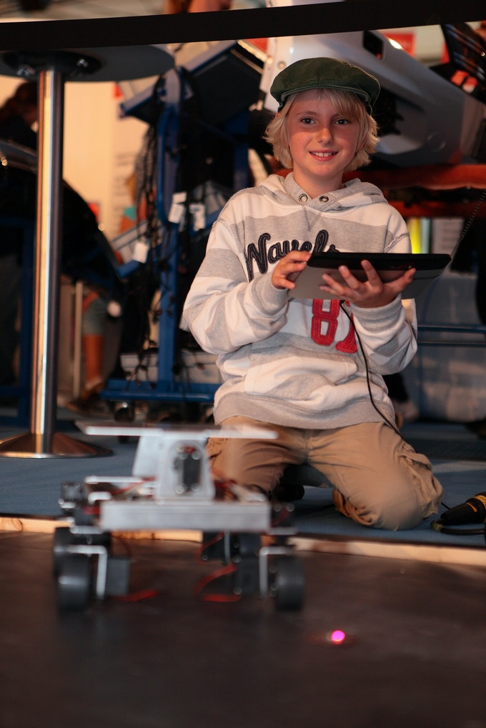 There is no better way to get excited about cool robotics!