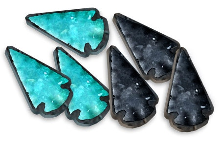 Preview Mockup of the Serpent Stones Victory Tokens