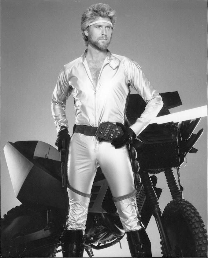 Barry Bostwick as Commander Ace Hunter in MEGAFORCE
