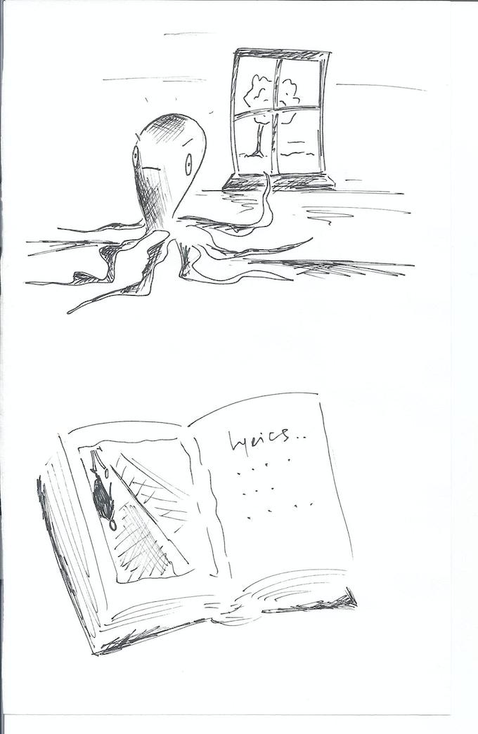Original Sketches #3 and #4