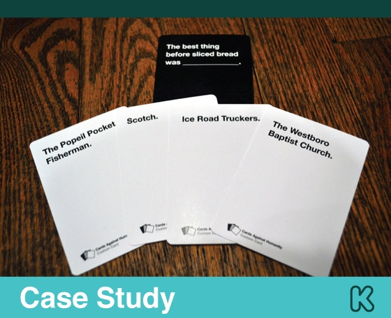 Case Study Cards Against Humanity Kickstarter