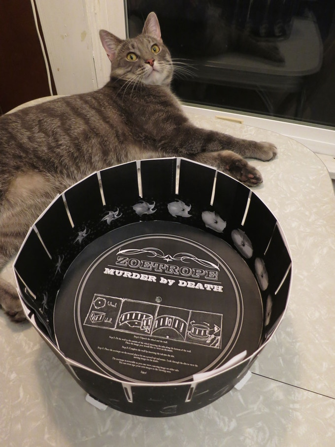 ZOETROPE! (Cat not included)