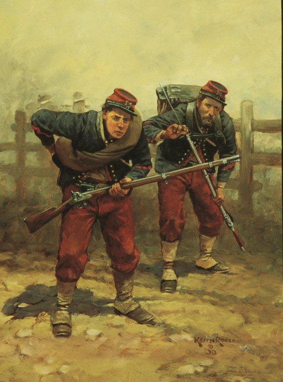 The 14th Brooklyn (Fought all three days at Gettysburg)