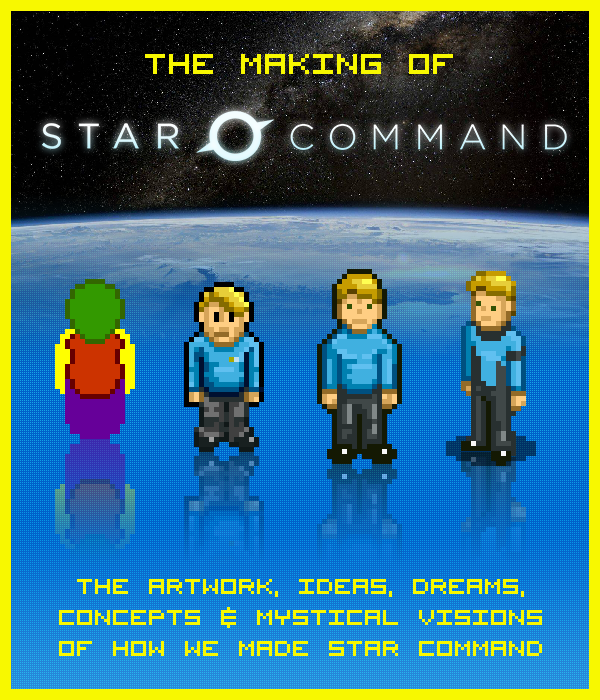 Making of Star Command digital art book and read along story!