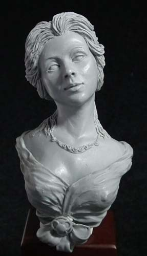 Katherine Bust With Option 1. Sculpted by Anastasiya Podorozhna.
