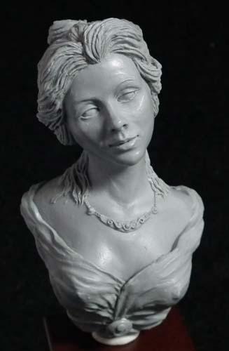 Katherine Bust Option 2. Sculpted by Anastasiya Podorozhna.