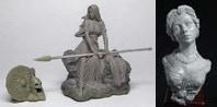 54mm Kriemhild's Revenge & Katherine Bust