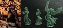 54mm Bodbh With Cairn & 3 Figure Swan Maiden Set