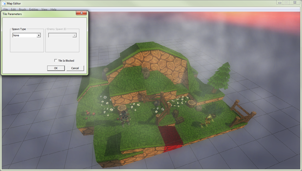 Our powerful editor will allow players to create their own custom maps