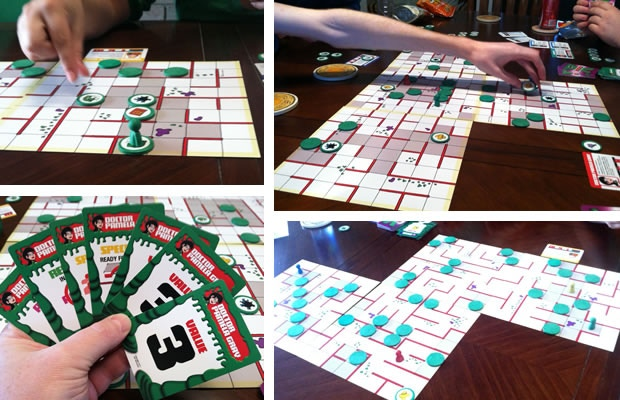 Game set shown is a prototype version.